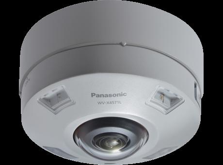 Telecamera dome per esterni antivandalo a 360 gradi H.265 iA 9 Megapixel con supporto di montaggio