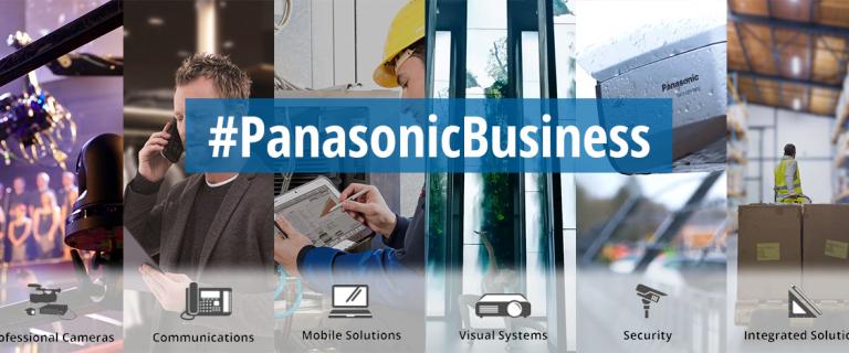 Panasonic Business Homepage Banner
