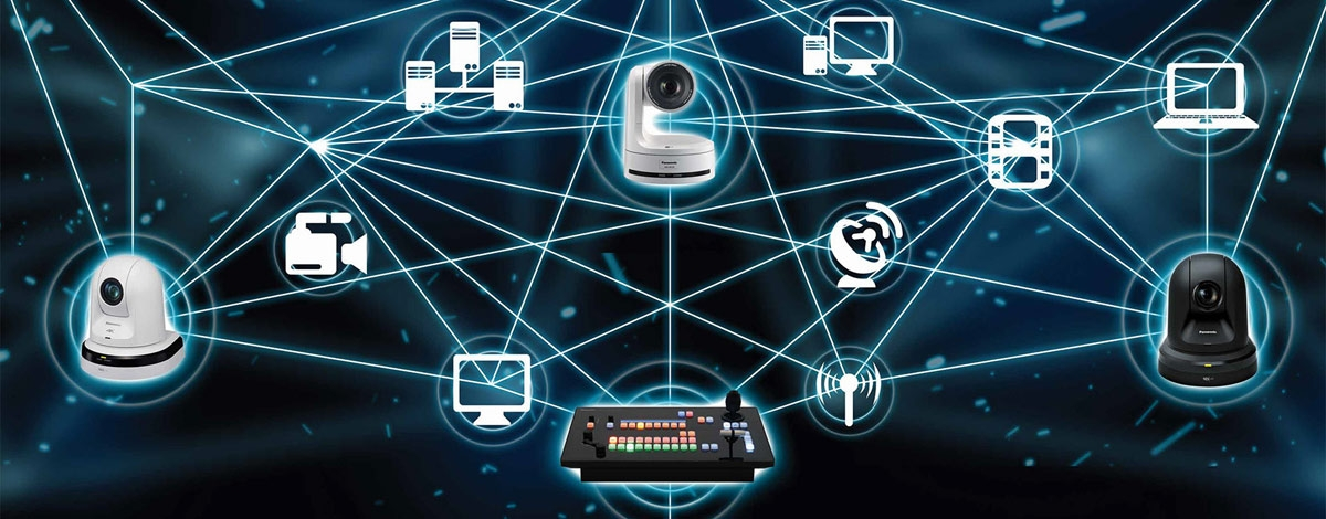 Remote Camera with Built-in Network Device Interface (NDI I HX) Support