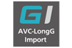 AVC-LongG Import per codice software AJ-PS004