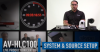 AV-HLC100 Live Production Center: Initial System Setup & How to Set Video Sources